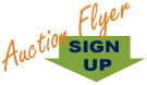 sign up to receive auction flyers via E-mail