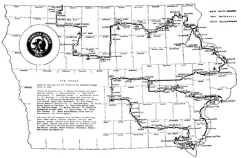 HIAWATHA PIONEER TRAIL map