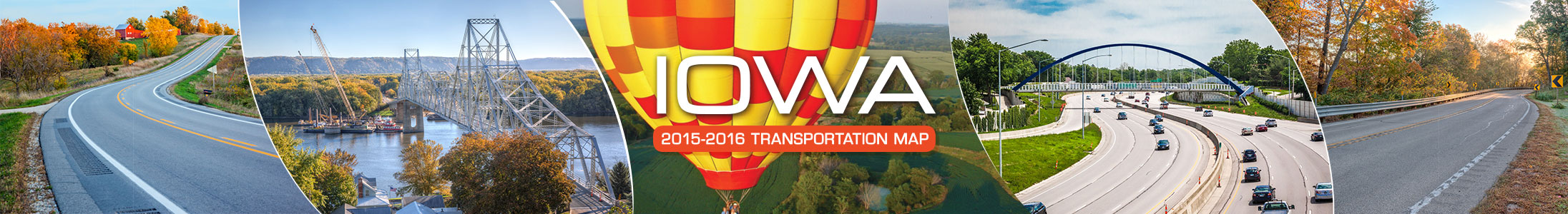 Iowa Transportation Map
