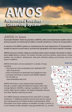 AWOS Automated Weather Observing System brochure