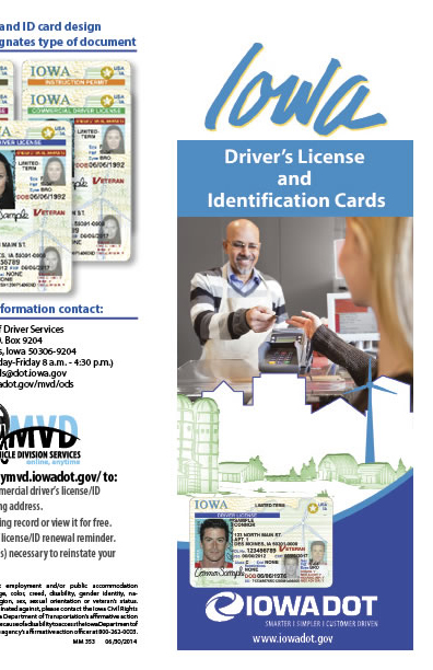 Driver's Licenses and Identification Cards brochure
