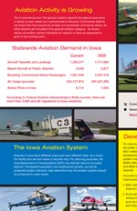 Aviation fact sheet brochure