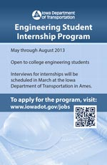 Engineering Student Internship Program brochure
