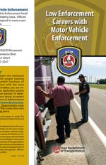 Law enforcement careers with MVE brochure
