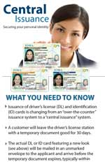 Central Issuance: Securing your personal identity (brochure)