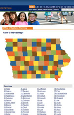 Iowa Farm-to-Market Maps