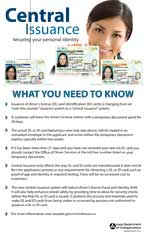 Central Issuance: Securing your personal identity (poster)