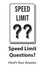 Speed Limit Questions? Here's Your Answer
