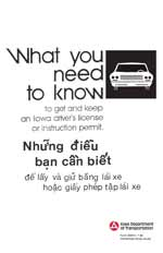 What you need to know - to get and keep an Iowa driver's license or instruction permit (Vietnamese)