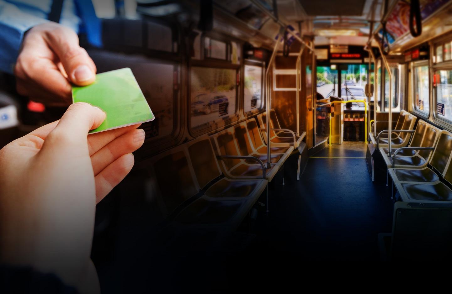 Transit background photo