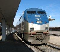 Amtrak pulling into Osceola