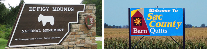 Examples of city and county signs