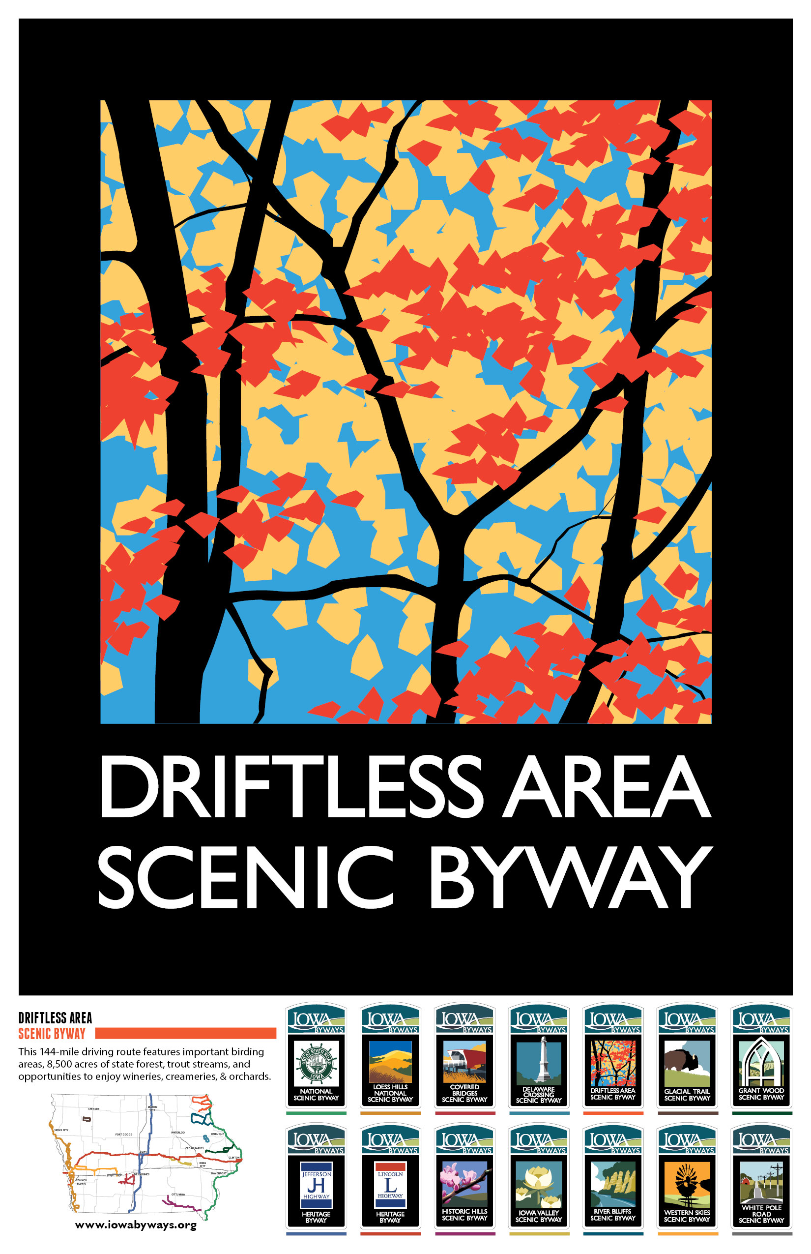 Driftless Area Poster