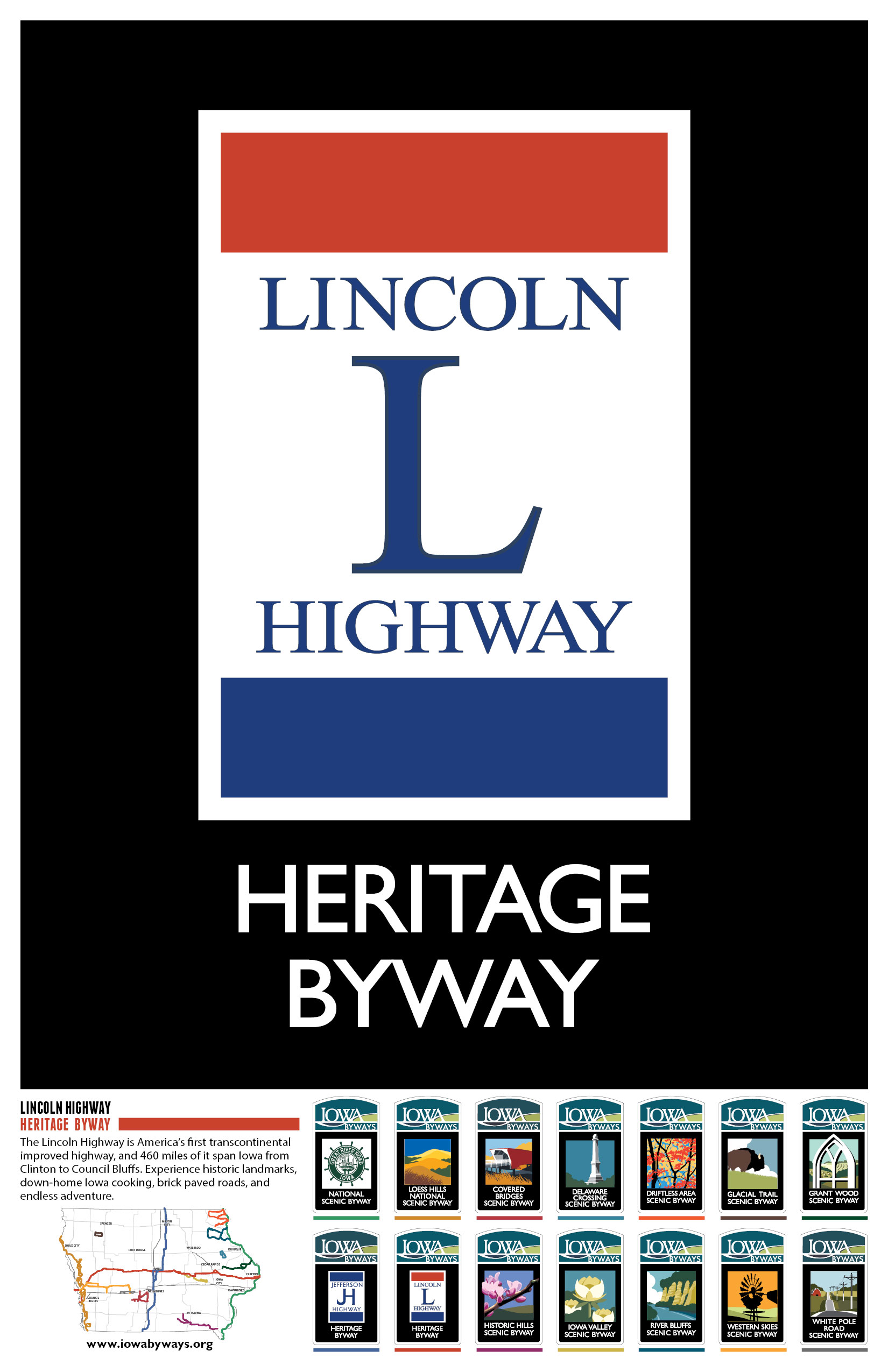 Lincoln Highway Poster