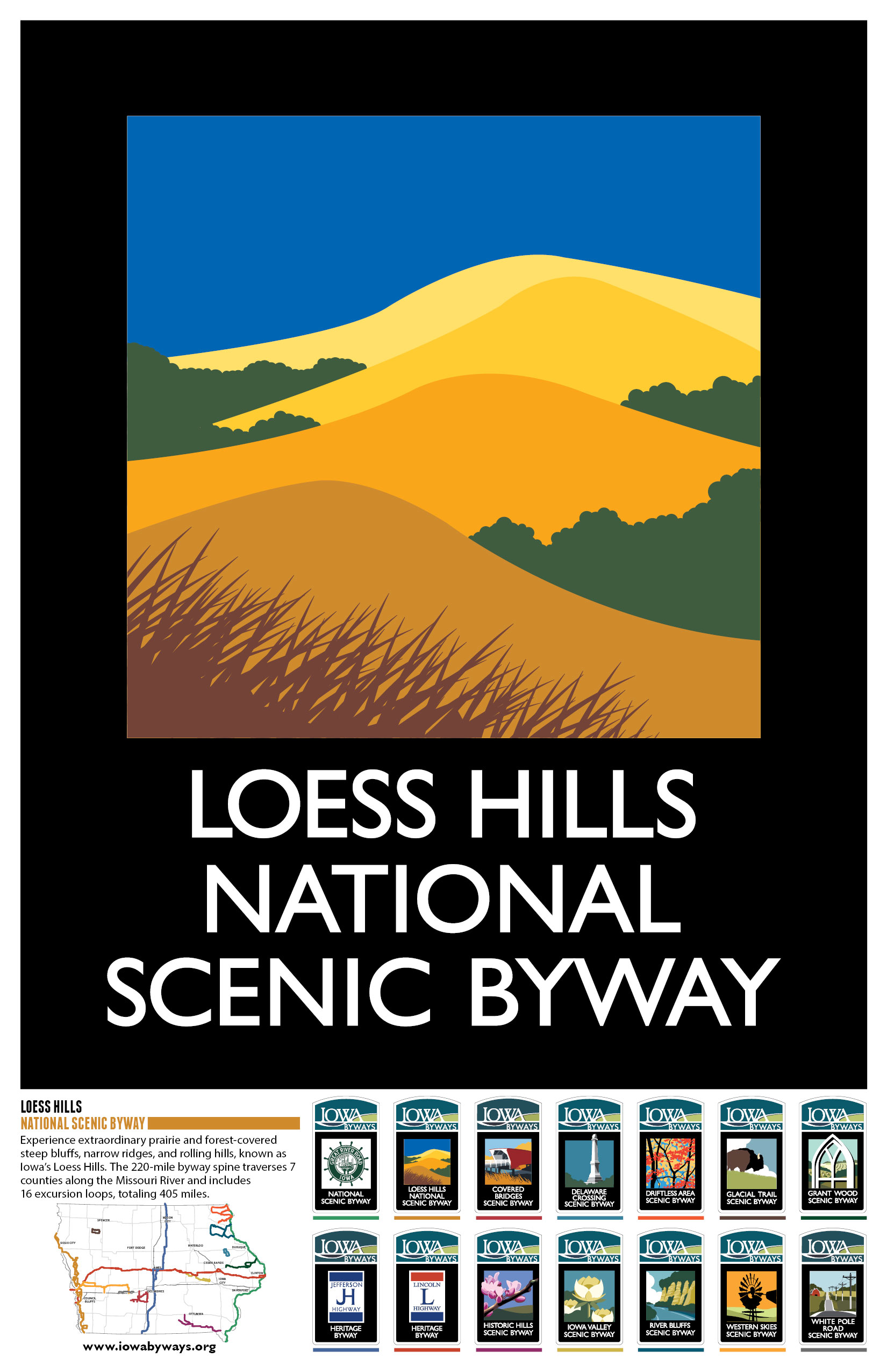 Loess Hills Poster