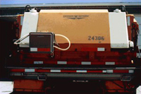 Swenson 140 gallon tailgate mounted prewet unit