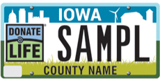 Organ and Tissue Donor Awareness License Plate