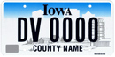 Disabled Veteran's Plate