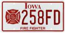 Firefighter plate