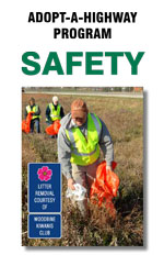 Iowa's Adopt-A-Highway Safety Brochure