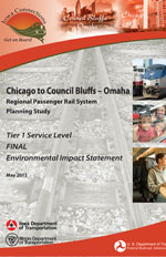 Chicago to Council Bluffs-Omaha Regional Passenger Rail System Planning Study