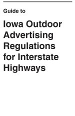 Guide to Outdoor Advertising for Interstates