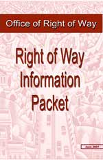 Right of Way Information Packet (LPA manual)