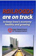 Railroads are on track - to keep Iowa's economy healthy and growing