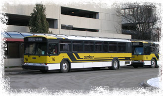 Cambus busses lined up