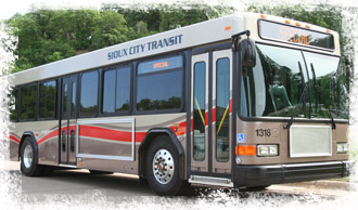 Sioux City transit bus